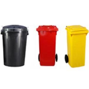 Cubos de basura y bidones